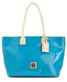 Dooney & Bourke Handbag, Small Patent Shopper