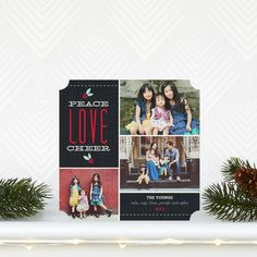 Lovely Stitches - Holiday Photo Cards by Hello Little One for Tiny Prints