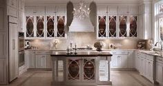 kitchen backsplash cream mosaic tile by Casamood collection Vetro