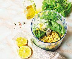 Bazalkové pesto   Recepty Albert Pesto, Ravioli, Mozzarella, Food Ideas