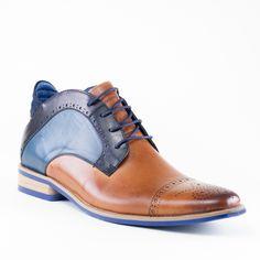 441758433c358 Chaussures Lune et L autre · TRIPOLI GOLD BLEU tripoli gold bleu de kdopa    des chaussures montantes style oxford pour les
