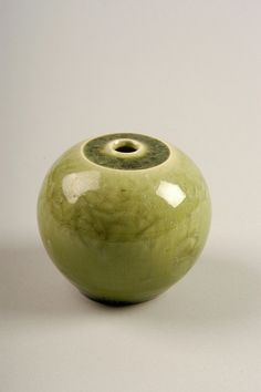 Hieber by American Museum of Ceramic Art- earthenware , untitled vase 1960-1970