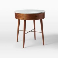 """$349.00 (Large) Dimensions; 24""""diam. x 26.5""""h. Night stands Penelope Nightstand – Acorn 