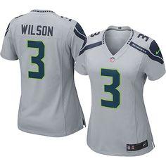 Women's Nike Seattle Seahawks Russell Wilson Game Alternate Jersey