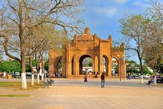 Plaza principal de Chiapa de Corzo