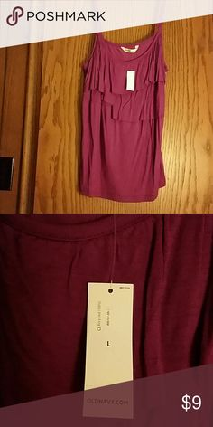 Purple Old Navy camisole, L, NWT Purple Old Navy camisole,  L, NWT Old Navy Tops Camisoles