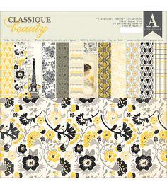 """Authentique Double-Sided Paper Pad 12""""X12"""" 24/Pkg-BeautyAuthentique Double-Sided Paper Pad 12""""X12"""" 24/Pkg-Beauty,"""
