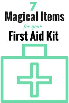 Here are 7 items to add to your first aid kit that you may not already have to take all the pain and tears away! (The Health-Minded.com) #health