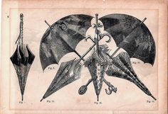 Victorian Umbrella Plate by cindyiscrafty, via Flickr
