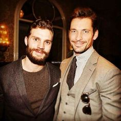 Jamie Dornan & David Gandy. It doesn't get any better than this. <3