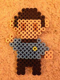Items Similar To Spock Perler Beads On Etsy