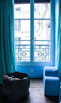 Fenêtre Salon Appartement Paris Marie Soudré Richard