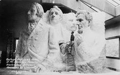 What Mount Rushmore was supposed to look like, before they ran out of funding