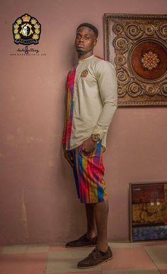After dazzling fashion lovers with the finest winter jackets and warmers in African print (whether the weather collection) Ghanaian fashion brand EKETINO is at African Inspired Fashion, African Print Fashion, Fashion Prints, Ankara Fashion, African Prints, African Attire For Men, African Clothing For Men, African Women, Afro