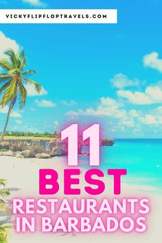 Looking for the best restaurants in Barbados? Here's all the places in Barbados I enjoyed most when I visited. Barbados food is great, but not very well known. Here's how you can enjoy the top Barbados restaurants on the island. Also, tips on what to have too! From Barbados bars, to sushi in Barbados to the best restaurants on the beach in Barbados, it's all here. #Barbadosfood #Barbados #Caribbean #FoodintheCaribbean #Barbadosdining #eatingbarbados #CaribbeanFood Amazing Destinations, Travel Destinations, Caribbean Vacations, Beaches In The World, Travel Guides, Travel Tips, Best Places To Eat, Wanderlust Travel, Barbados
