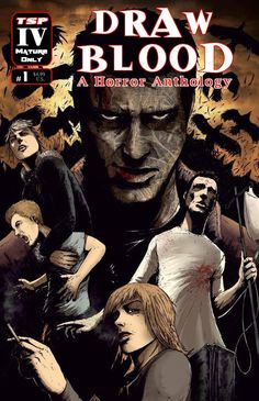 Draw Blood: A Horror Anthology #1, Cover A