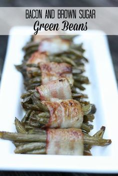 Bacon and Brown Sugar Green Beans