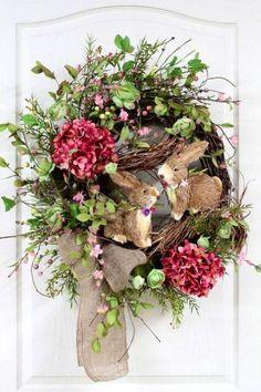 Sweet Easter/Spring wreath.