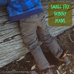 Sewing more skinny jeans – this pattern is the best!