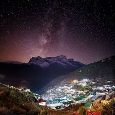 Photo by @beauty.nature.pic  Galaxy Over Namche Bazaar Khumbu Nepal #amazing #nepal #beauty #nepal #beautifulsky #nightphotography #travelworld #naturephotography #naturephotoshot #awsomeview #view #travelpic #travelphotography #hill #mountain #mountains #coolpics #cool #colourfulsky #adventure #destination #vacation #explore #outdoor #nature #travel #motherearth #landscape #nepalphotoproject