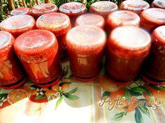 Bulion pasta de ardei Pillar Candles, Candle Jars, Candle Holders, Raw Vegan, Vegan Vegetarian, Pudding, Canning, Desserts, Recipes