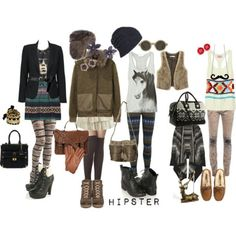 Winter Indie/ Hipster Outfits