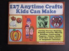 Hey, I found this really awesome Etsy listing at https://www.etsy.com/listing/483446664/craft-activity-book-for-kids-vintage-127