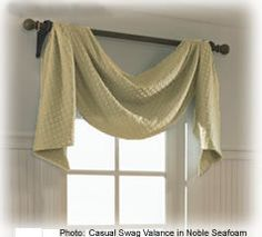 Valances & Wood Cornices | Custom Drapery Valances & Swag #BlindsComWin Custom Drapery, Wall Design, Small Room Decor, Window Cornices, Window Treatments Living Room, Wall Paint Colors, Wood Cornice, Living Room Windows, Furniture Design Modern