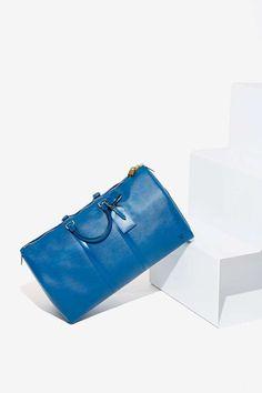 Vintage Louis Vuitton Keepall Epi Leather Duffle Bag