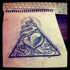 new sketch heart by WillemXSM.deviantart.com on @deviantART