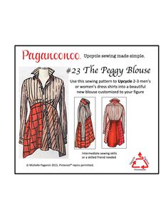 Upcycle sewing made simple. Save yourself time and aggravation. Leverage upcycle fashion designer Michelle Paganini's proven methods to create your own beautiful upcycled garments with Paganoonoo patterns.
