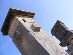 The Harpy Tomb & Lycian Sarcophagus at Xanthos, Lycian Turkey