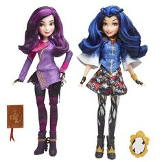 Your Guide to the Disney Descendants Dolls: Disney Descendants Villains Dolls Mal and Evie