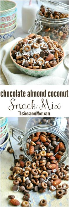 ... chocolate, almonds, and coconut, this Chocolate Almond Coconut Snack