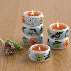 Monster Bash Tea Party Set Of 6 now featured on Fab. Halloween Candles, Halloween Crafts, Tea Party Setting, Tech Accessories, Candle Holders, Treats, Household, Lovers, Diy