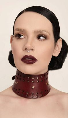 Your marketplace to buy and sell handmade items. Leather Harness, Leather Collar, Leather Whip, Red Leather, Slave Collar, Collar Choker, Posture Collar, Leather Handcuffs, Septum