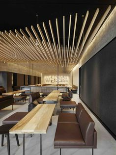 Image 1 of 13 from gallery of In Situ / Aidlin Darling Design. Photograph by Matthew Millman Corporate Interior Design, Corporate Interiors, Restaurant Interior Design, Best Interior Design, Interior Decorating, Retail Design, Cafeteria Design, Best Modern House Design, Hotel Restaurant