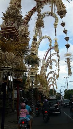 Penjor from Bali. Bali, Indonesia, Wanderlust, Bucket List, Island, Paradise, Bali, Travel, Exotic Places, temple, places to visit in Bali, Balinese food must try.