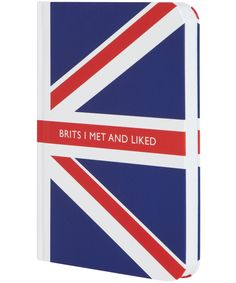 Brits I Met and Liked Notebook, Archie Grand. Shop more from the Archie Grand collection at Liberty.co.uk