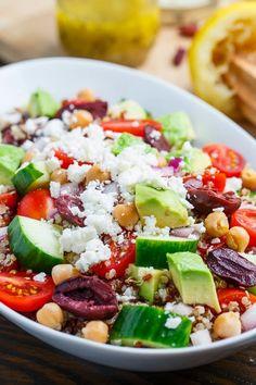 Mediterranean Quinoa Salad | The Best Healthy Recipes