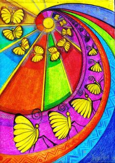 Obra: Mariposas van, mariposas vienen Se hacen chicas, se hacen luz