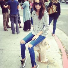Ashley Madekwe. LOVE HER SHOES!