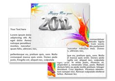 2012 New Year PowerPoint Template