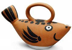 Signed Pablo Picasso, Ceramic Madoura Sculpture, Fish, 1952