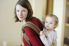 It's no secret that babies love to be close to their caregivers, and that older infants and toddlers can sometimes need a bit of help when a trek on foot is a long one.
