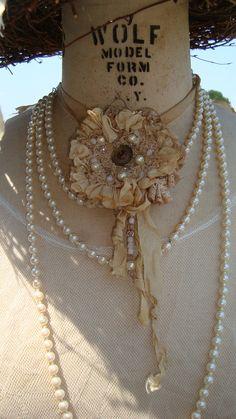 Items similar to Cowgirl Wedding necklace on Etsy Cowgirl Wedding, Cowgirl Bling, Cowgirl Style, Cowgirl Fashion, Handmade Flowers, Diy Flowers, Western Chic, Wedding Designs, Wedding Ideas