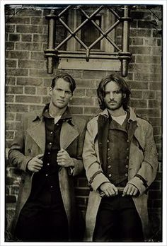 Megan Sheperd wrote 3 books simultaneously, which has led to the creation of daguerreotype photos.sorry gals, this is not a genuine Civil War photo.but I'm sure there were many young men just as handsome as these two hunks!