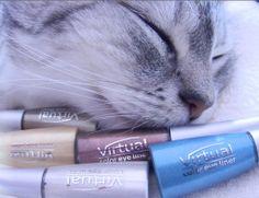 Blog firmowy abc-uroda.com: Recenzja Virtual Color Eye Liner (kolorowe eyeline...