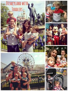 Disneyland with Toddlers - tips for having a magical trip with toddlers and recommendations for food, rides and more from The BakerMama.