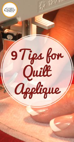 Quilt applique can be done in a variety of ways, from machine to hand stitching, and with the use of many different products to make the process easier. Laura Roberts shows you several ways to quilt applique and shares many tips and tricks along the way.